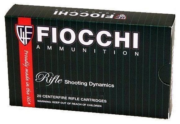 Picture of Fiocchi Centerfire Rifle Ammo - 308 Win, 180Gr, Interlock BT, 20rds Box