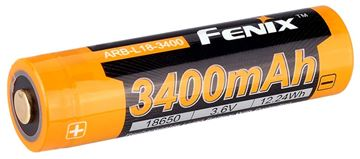 Picture of Fenix Accessories, Rechargeable Battery - ARB-L18, Rechargeable 18650 Li-ion Battery, 3.6V, 3400mAh