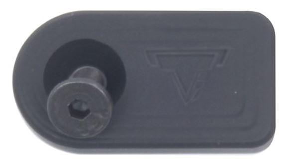 Picture of Taran Tactical Innovations Benelli TTI Custom Parts - TTI Oversized Bolt Release, Flat Black, Fits Benelli & Shotguns w/Similar Bolt Release Button 5/40 Thread
