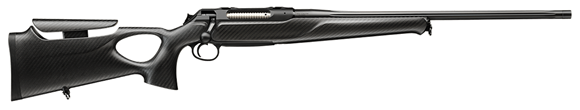 Picture of Sauer 404 Synchro XTC Bolt Action Rifle - 300 Win Mag, 620mm, M15x1 Muzzle Thread, Black Anodized, Carbon Fiber Synchro XTC Stock