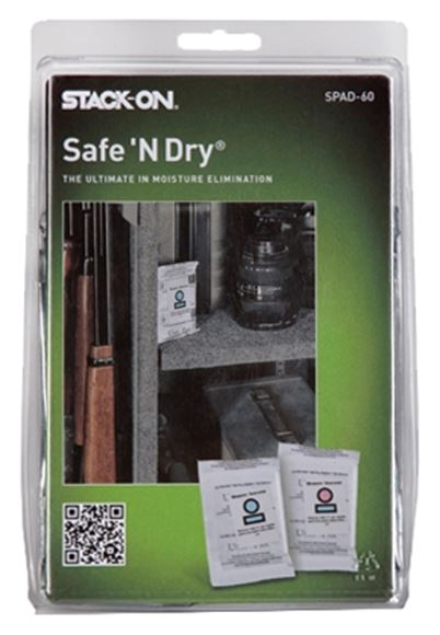 Picture of Stack-On Secure Storage - Safe 'N Dry, Moisture Elimination Packets, 10 Pack