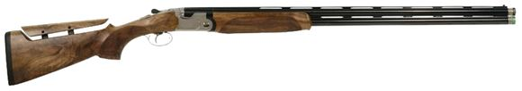 "Picture of Beretta 692 Sporting Plus Over/Under Shotgun - 12Ga, 3"", 32"", Steelium, Blued, Oiled Selected Walnut w/B-Fast Adjustable Stock, OptimaChoke HP Extended (SK,C,IC,M,IM)"
