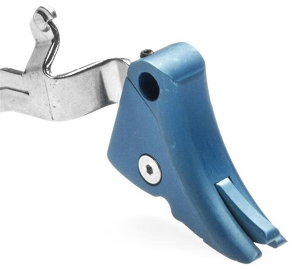 Picture of Lone Wolf Glock Parts - Ultimate Adjustable Trigger, Blue, 9mm/40cal
