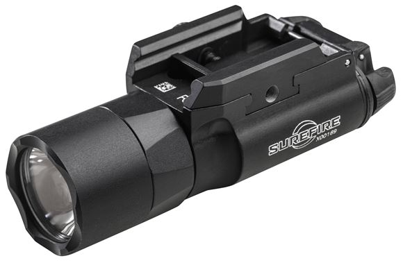 Picture of SureFire Weapon Light - X300 Ultra, 600lumen, 1.75hr Runtime, 2x 123A Battery, Weatherproof, Black