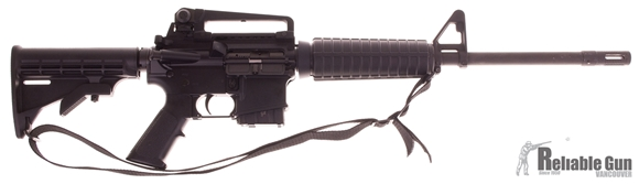 """Picture of Used Bushmaster AR-15 XM15-E2S, .223/5.56, 16"""" BBL, Carry Handle, Hard Case, 1x Magazine Very Good Condition"""