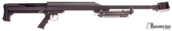 "Picture of Used Barrett Model 99 Single Shot Bolt Action Rifle System - 50 BMG, 30"", Heavy, 1:15"", M1913 Steel Optic Rail, Bi Pod, Pelican Case, Good Condition"