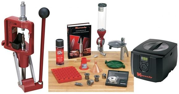 Picture of Hornady Metallic Reloading, Lock-N-Load Presses - Lock-N-Load Classic Kit With Sonic Cleaner Combo