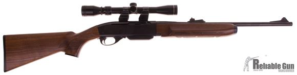 Picture of Used Remington 7400 Carbine Semi-Auto 30-06, With Tasco 3-9x32mm Scope, One Mag, Good Condition
