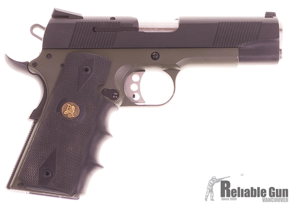 "Picture of Used Smith & Wesson PD1911 Semi-Auto 45 ACP, 4.5"" Barrel, Two-Tone Gun Kote, With 4 Mags & Blackhawk Holster, Good Condition"