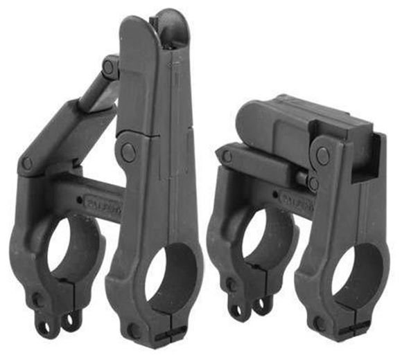 Picture of A.R.M.S. Iron Sights - #41-B, Silhouette, Folding Front Sight w/Integral Gas Block