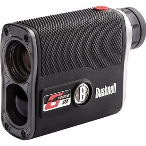 Picture of Bushnell Hunting/Tactical G-Force DX Laser Rangefinders - 6x21mm, 5-1300yds (900yds to Tree, 600yds to Deer), Black, Bow/Rifle ARC (Angle Range Compensation), 2nd Generation ESP (Extreme Speed Precision), VDT (Vivid Display Technology), VSI (Variable Sig