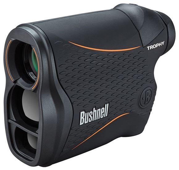 Picture of Bushnell Trophy Laser Rangefinder - 4x20mm, 850 yards, Vertical Black