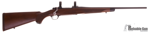 Picture of Used Ruger M77 Hawkeye Ultra Light, Bolt Action Rifle, 243 Win, 20'' Barrel, Walnut Stock, Matte Finish, 1'' Rings, Excellent Condition