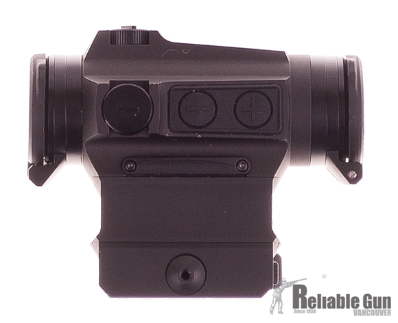Picture of USED Holosun Reflex Sights - HS515C-U Solar Micro Reflex Sight W/ Caps, Black, 2 MOA Red Dot & 65 MOA Circle, 2 NV & 10 DL Settings, Multi-Layer Coating, Waterproof IP67, w/High/Low Riser Mounts, Quick Release Mount, CR2032, 30,000 hrs