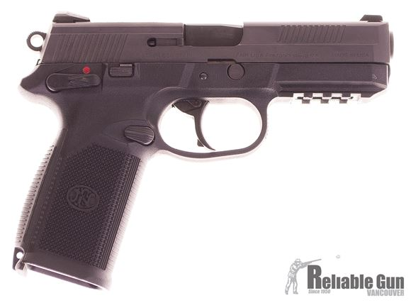 """Picture of Used FNH FNP Semi-Auto 45 ACP, 4.5"""" Barrel, With 2 Mags & Hard Case, Very Good Condition"""