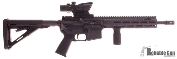 """Picture of Used Colt Diemaco MRR 11.5"""" AR-15 - w/ Trijicon ACOG 4x32 Red Crosshair, 3 Mags, Case"""
