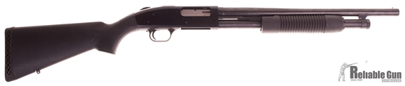 """Picture of Used Mossberg 500 Pump-Action 12ga, 3"""" Chamber, 18.5"""" Barrel, 6 Shot, Good Condition"""