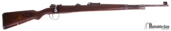 Picture of Used Mauser 98 Trainer Bolt-Action .22LR, Israeli Conversion With Remington Barrel, Single Shot, Receiver Badly Pitted, Otherwise Fair Condition