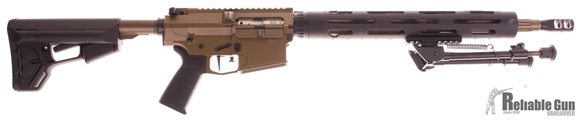 """Picture of Used CMMG MK3 AR 308 - 18"""" DPMS Fluted Match Barrel, JP Handguard, 15.5"""" Handguard, Adjustable Gas Block, Timney Trigger, BCM Charging Handle, Magpul STR Stock, MIAD Grip, Phase 5 V2 Bolt Catch, KMS Anti-Walk Pin, 4x PMAGs, Bipod. Excellent Condition"""