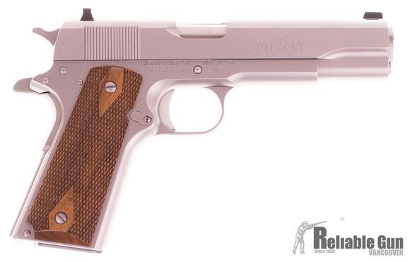 """Picture of Used Remington 1911 R1 Semi-Auto 45 ACP, 5"""", Stainless, With 2 Mags & Original Case, Excellent Condition"""