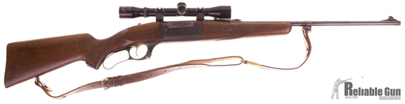 Picture of Used Savage Model 99 Lever-Action 308 Win, With Tasco 4x32mm Scope, Fair Condition