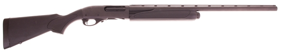 "Picture of Used Remington Model 870 Express Super Magnum Synthetic Pump Action Shotgun - 12Ga, 3-1/2"", 28"", Vented Rib, Matte Black, Matte Black Synthetic Stock, 3rds, Rem Choke (Modified), No Box, Never Fired, As New."