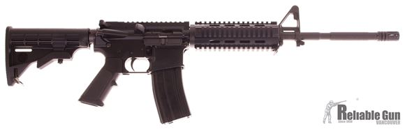 """Picture of Used Bushmaster XM15-E2S Semi-Auto 5.56mm, 16"""" Barrel, With YHM Quad Rail, One Mag, Excellent Condition"""