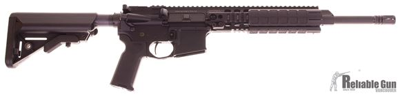 "Picture of Used LMT CQB MRP Defender Semi-Auto Carbine, 5.56mm NATO, 14.5"", Black, Timney Trigger, 1 Magazine, w/SOPMOD Stock, MRP Wrench, Rail Panels, Sling, Pre Owned Like New"