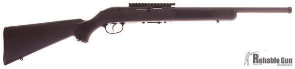 """Picture of Used Savage 64 FVSR Semi-Auto Rifle - 22 LR, 16.5"""" Threaded Heavy Barrel, Picatinny Rail, Synthetic Stock, 10rd Mag, New in Box/ Salesman Sample"""
