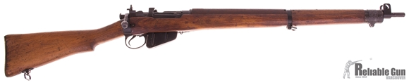 Picture of Used Lee Enfield No 4 Mk 1 Bolt-Action 303 British, Full Military Wood, US Property Marked, 2 Groove Rifling, Good Condition