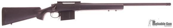 """Picture of Used Remington 700 Police Bolt-Action 338 Lapua Mag, 24"""" Barrel, Parkerized, With Muzzlebrake, AI Mag, Good Condition"""