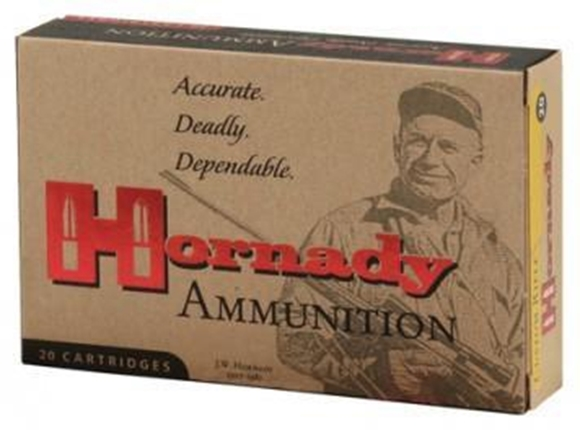 Picture of Hornady Custom Rifle Ammo - 300 Win Mag, 180Gr, InterLock SP, 20rds Box