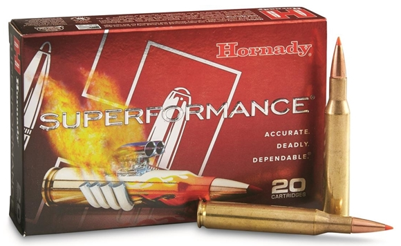Picture of Hornady Superformance Rifle Ammo - 7mm-08 Rem, 139Gr, SST Superformance, 200rds Case
