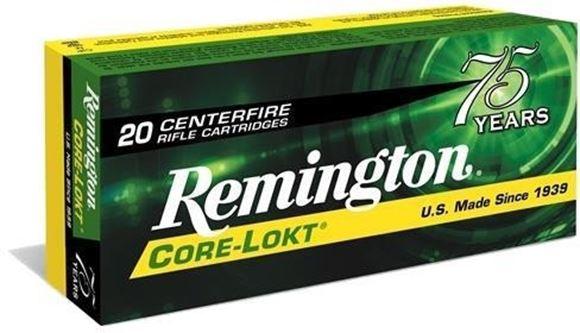 Picture of Remington Core-Lokt Centerfire Rifle Ammo - 7mm Rem Mag, 175Gr, Core-Lokt, PSP, 200rds Case