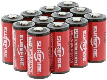Picture of SureFire Lithium Batteries - 123A, Box of 12