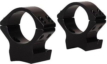 "Picture of Talley Lightweight One-Piece Alloy Scope Mount - 1"", Low, Black Anodized, For Browning X-Bolt"
