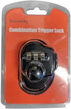 Picture of Vision Industry  - Gun Combination Trigger Lock, Black, Push Button Style