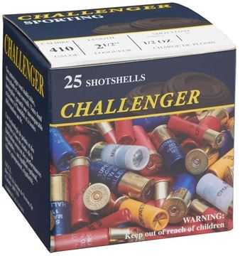 "Picture of Challenger Game Loads Shotgun Ammo - .410"", 2-1/2"", 1/2 oz, #6, 25rds Box"