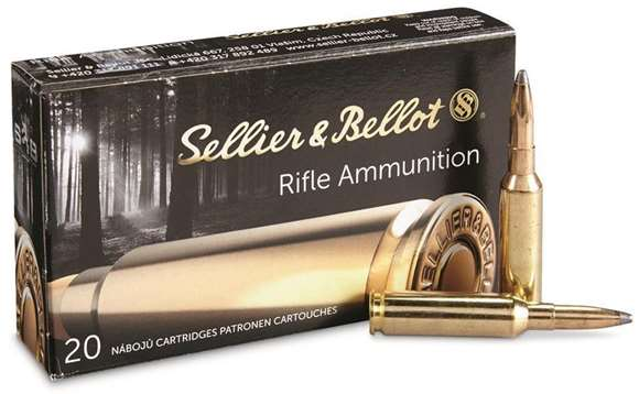 Picture of Sellier & Bellot Rifle Ammo - 6.5 Creedmoor, 131Gr, SP, 20rds Box