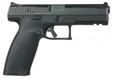 "Picture of CZ P-10 F Semi-Auto Pistol - 9mm, 4.51"", Striker Fired, Full Size Black Polymer Frame, 2x10rds, Interchangeable Backstraps, Ambidextrous Controls"