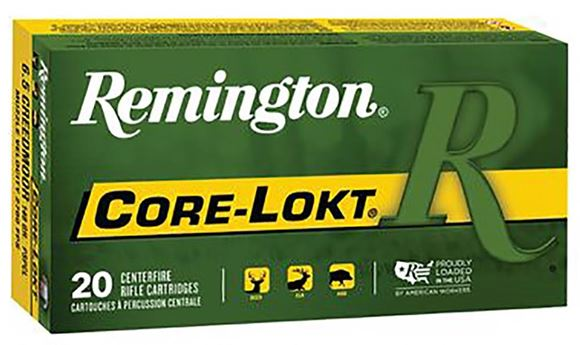 Picture of Remington Core-Lokt Rifle Ammunition - 6.5 Creedmoor, 140gr, Pointed Soft Point, 200rds Case